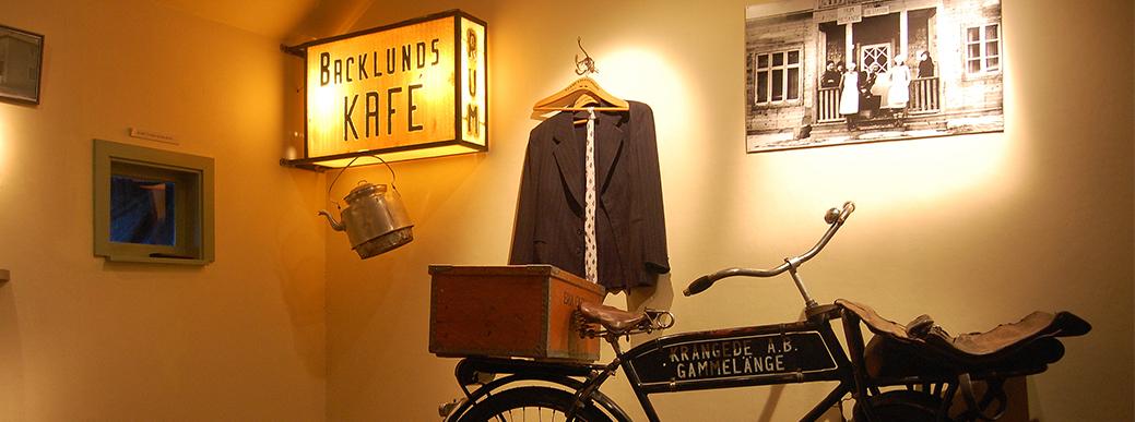 Besöka Krångede museum